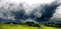 Storm at the golf course